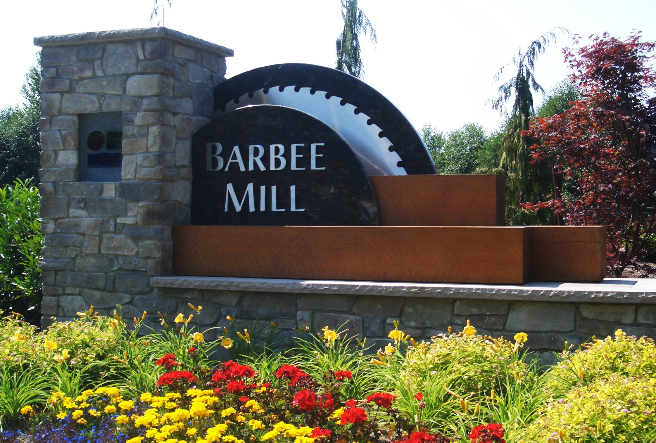Barbee Mill Monument